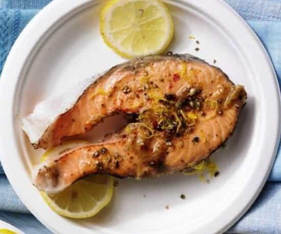 рецепт лосося жареного на гриле