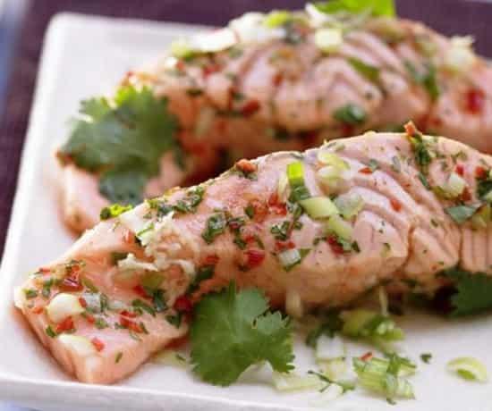 рецепт лосося в духовке с картошкой