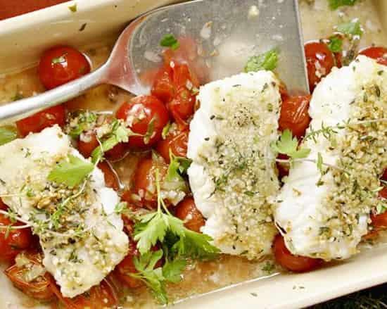 рецепт лосося в духовке