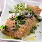 Миниатюра к статье Филе лосося в духовке