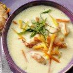 рецепт супа с креветками и морковью